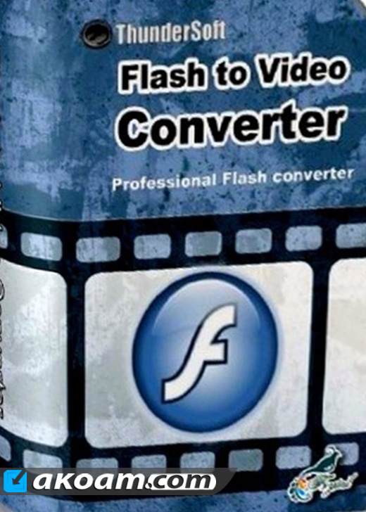 برنامج ThunderSoft Flash to Video Converter v2.4.2.0 Full