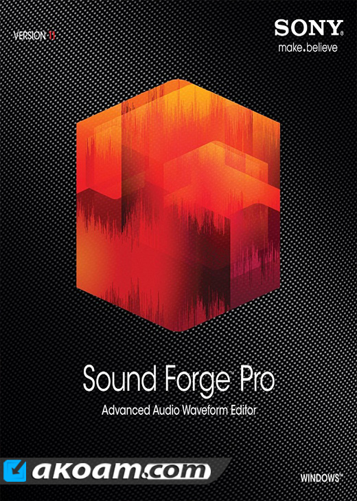 برنامج MAGIX Sound Forge Pro 11.0 build 345