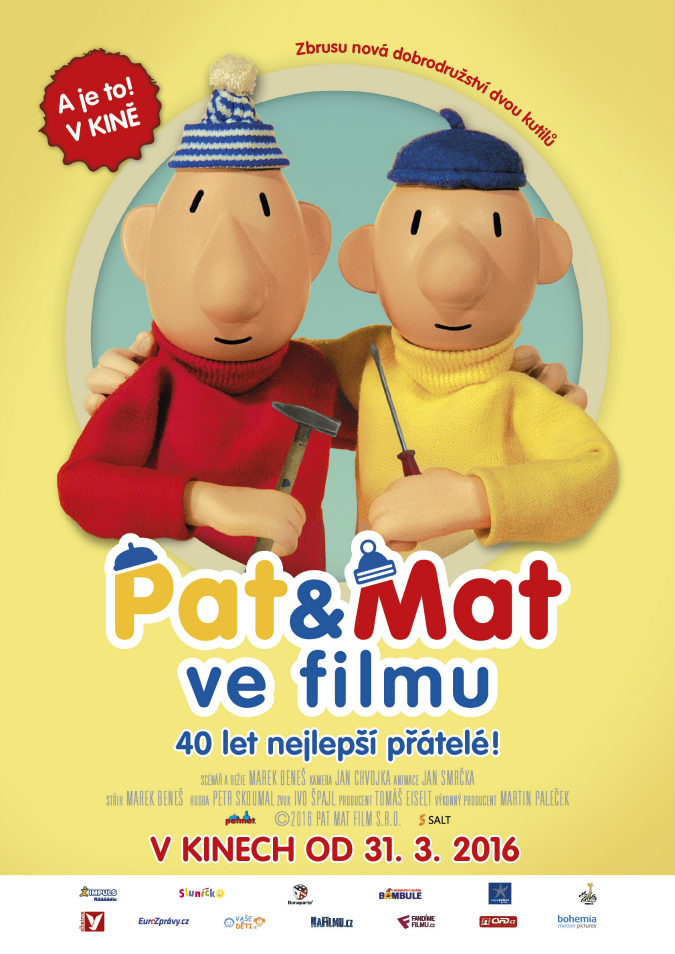 فيلم Pat And Mat In A Movie 2016 مترجم