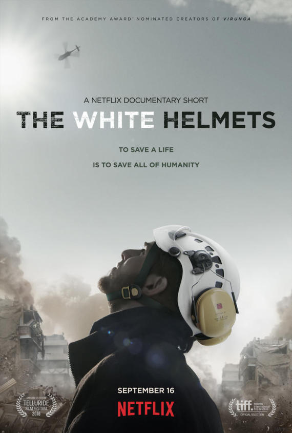 فيلم The White Helmets 2016 مترجم