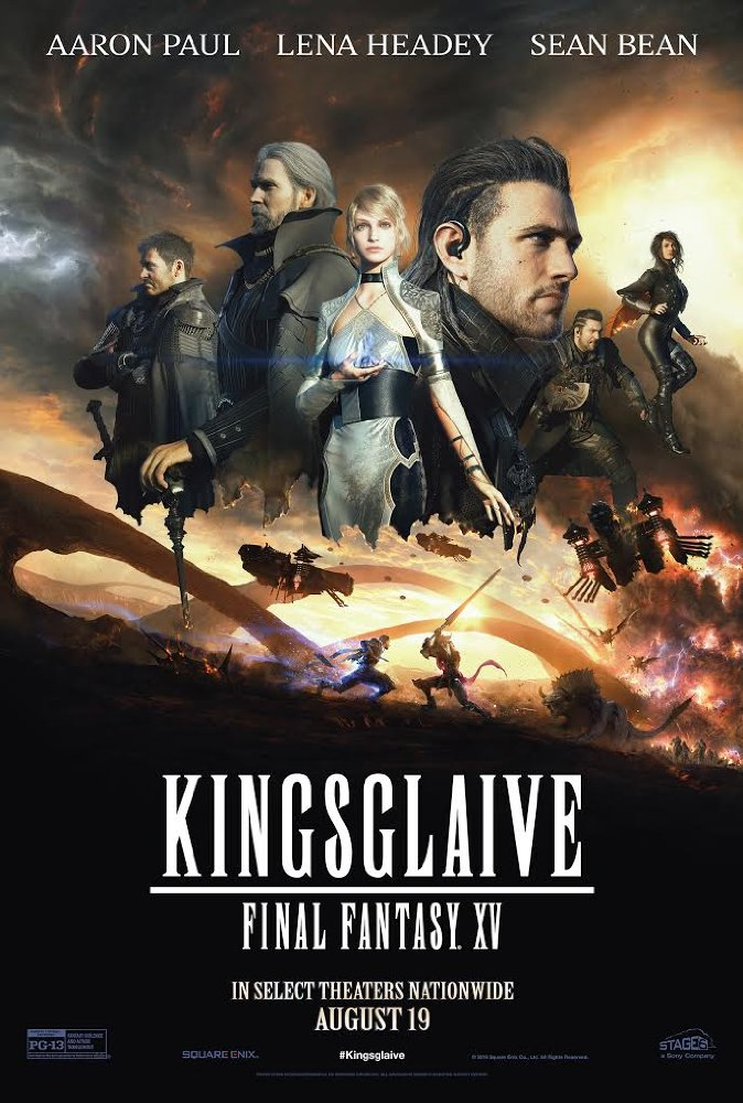 فيلم Kingsglaive: Final Fantasy XV 2016 مترجم