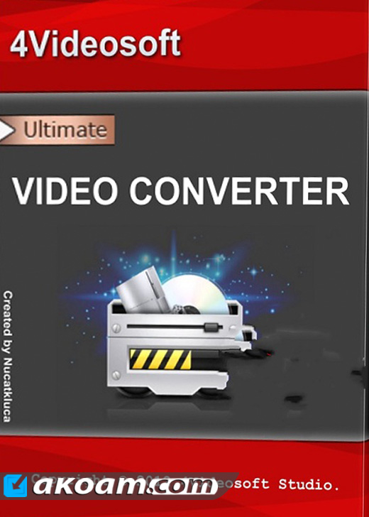 برنامج 4Videosoft Video Converter Ultimate v6.0.30 Full