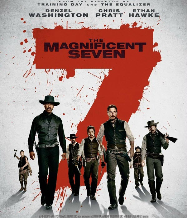 فيلم The Magnificent Seven 2016 مترجم HDCAM