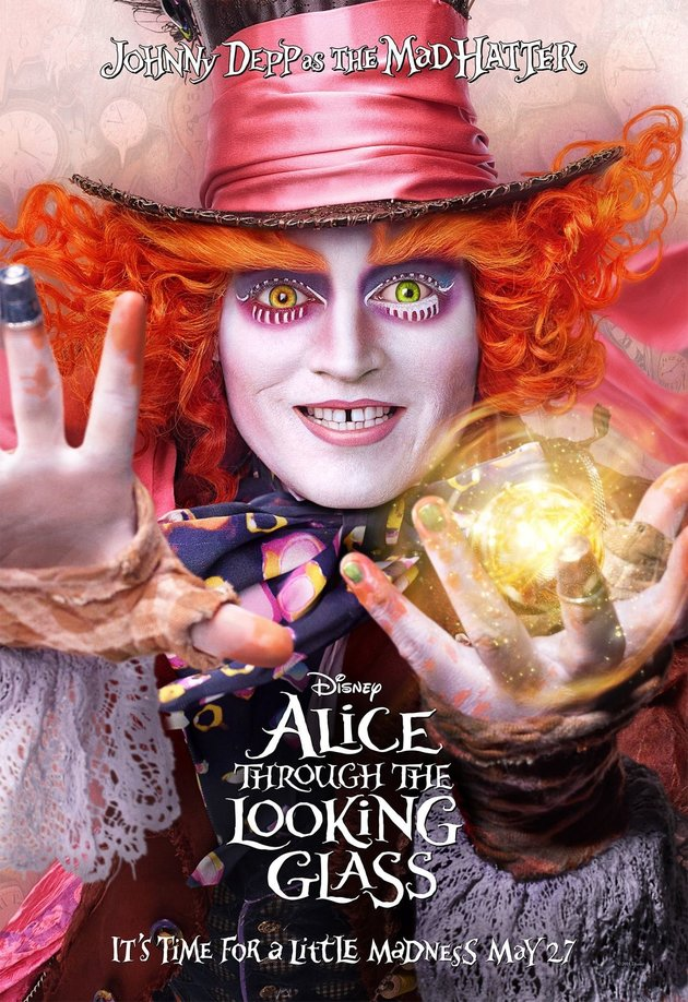 فيلم Alice Through the Looking Glass 2016 مترجم