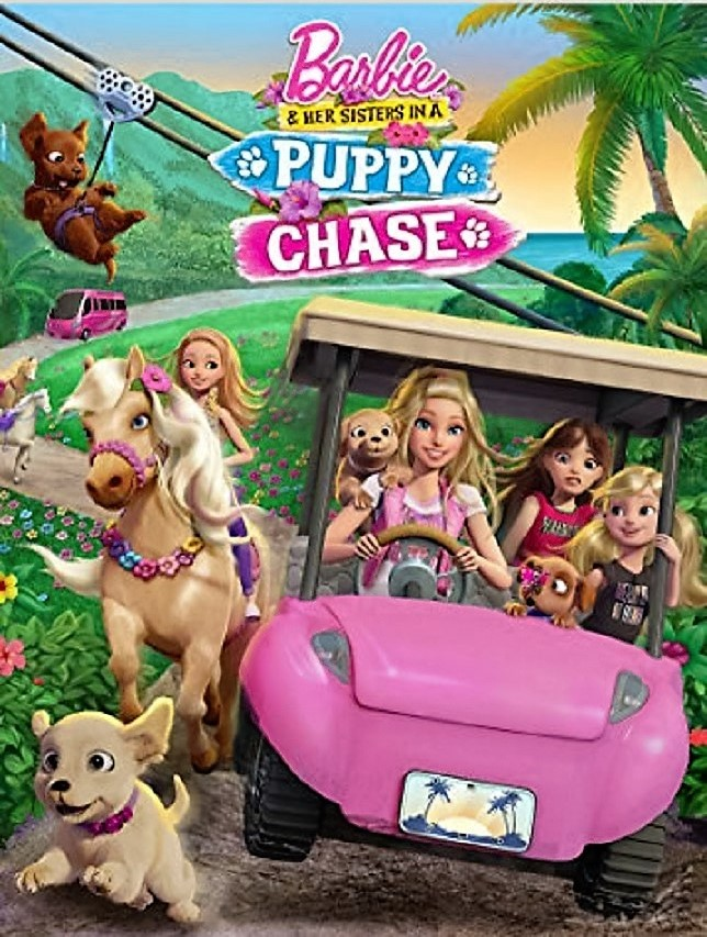 فيلم Barbie And Her Sisters In A Puppy Chase 2016 مترجم