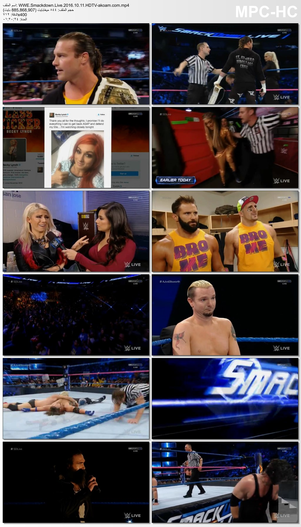 WWE,Smackdown,WWE Smackdown Live