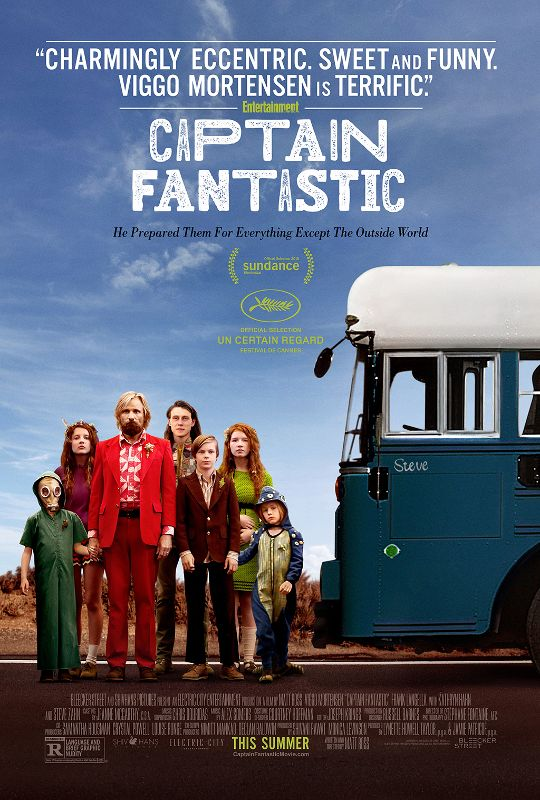 فيلم Captain Fantastic 2016 مترجم