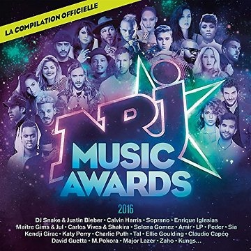 البوم NRJ Music Awards 2016 لأقوي أغاني 2016