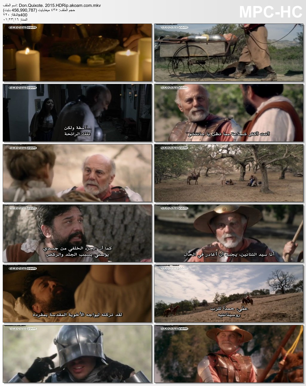 Don Quixote: The Ingenious Gentleman of La Mancha,المغامرات,الدراما,العائلي