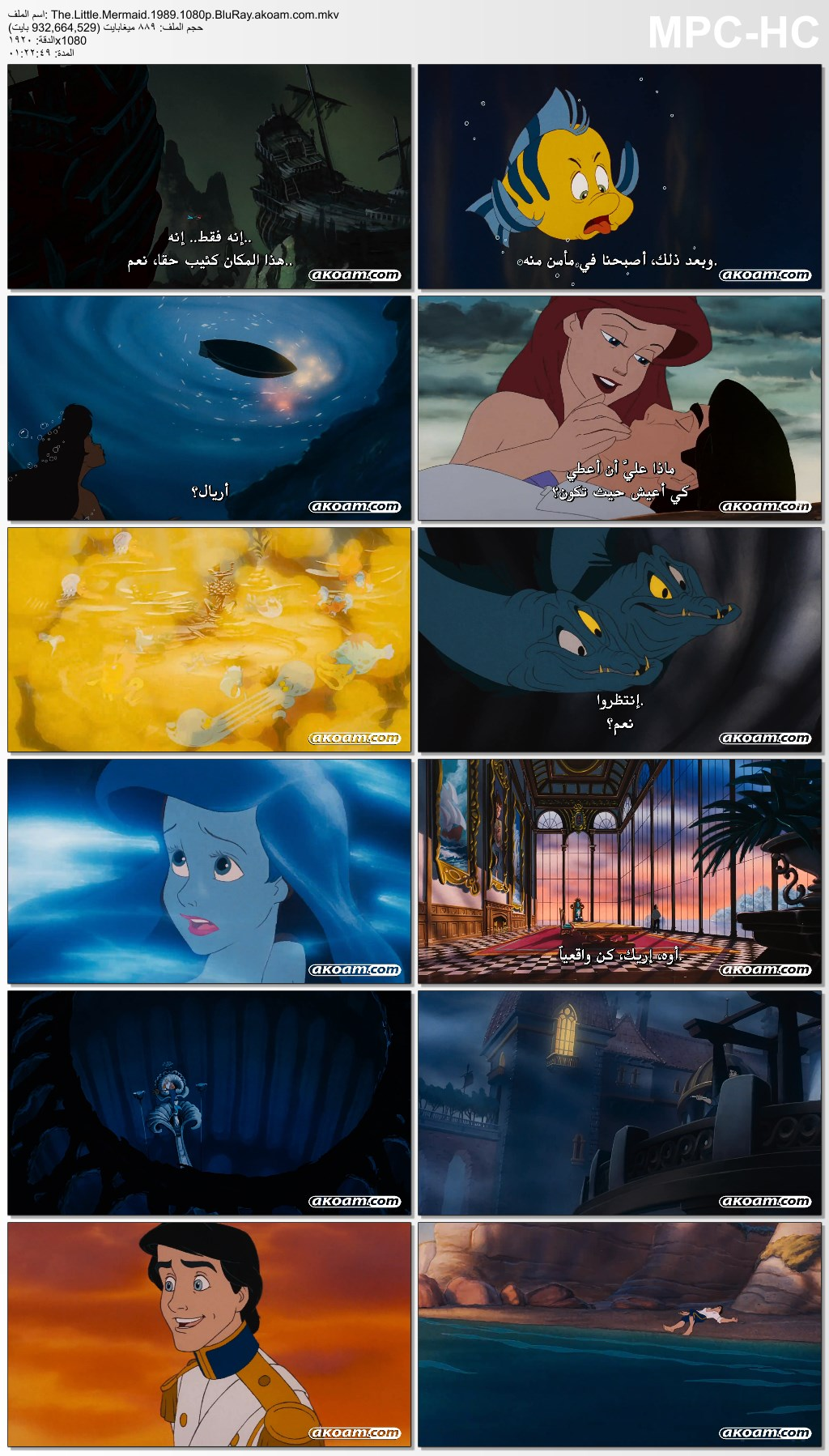 الانيميشن,الفانتازيا,العائلي,The Little Mermaid,حورية البحر,The Little Mermaid II: Return to the Sea 2000,The Little Mermaid: Ariel's Beginning,The Little Mermaid 1989