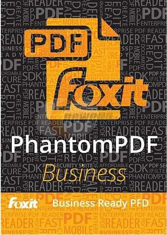 برنامج Foxit PhantomPDF Business 8.1.1.1115