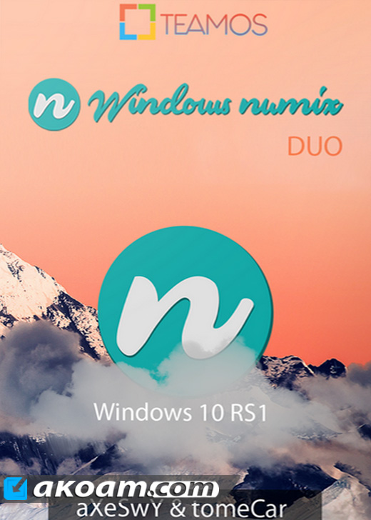 ويندوز Windows 10 Numix Duo