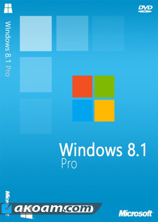 ويندوز Windows 8.1 Professional VL November 2016