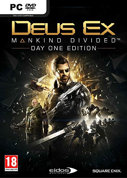 لعبة Deus Ex Mankind Divided بكراك CPY