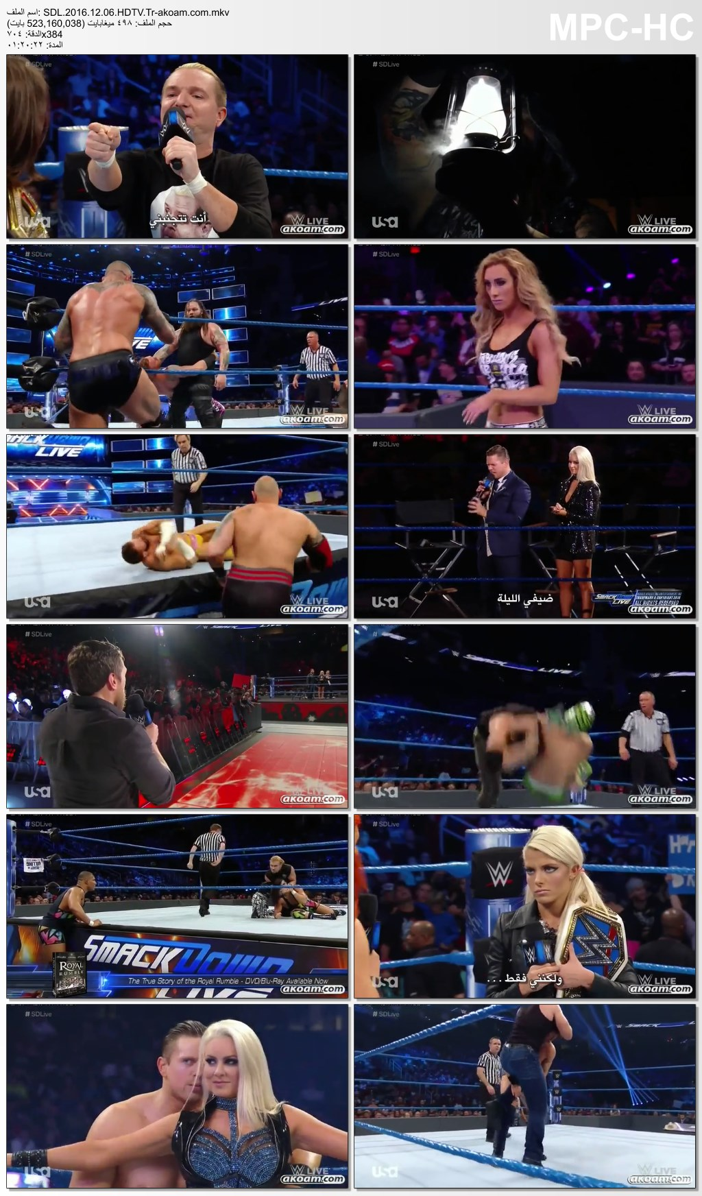 WWE Smackdown Live 2016,Smackdown,WWE