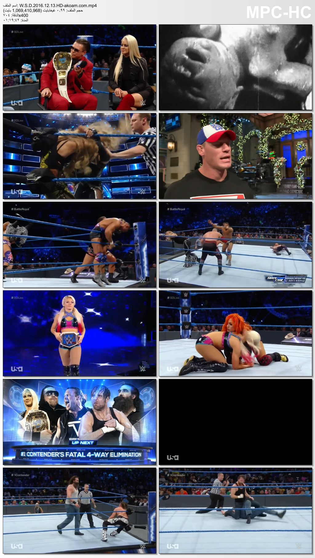 WWE Smackdown Live 2016,WWE,Smackdown Live 2016
