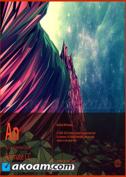 برنامج Adobe Animate CC 2017 v16.0.1