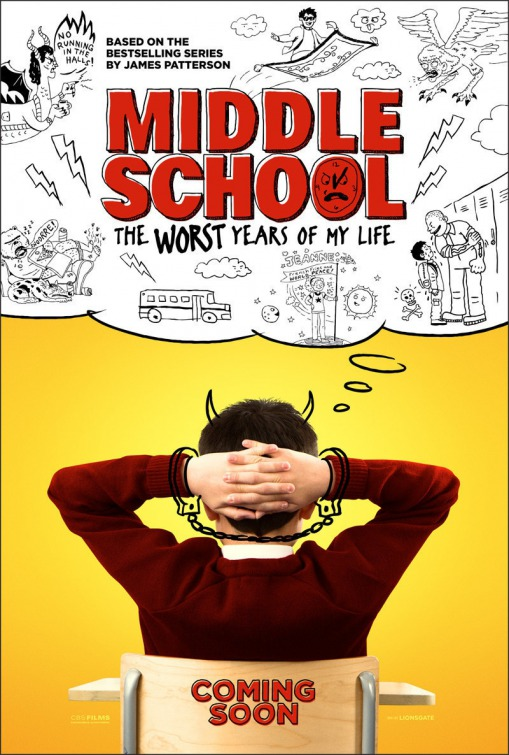 فيلم Middle School: The Worst Years of My Life 2016 مترجم