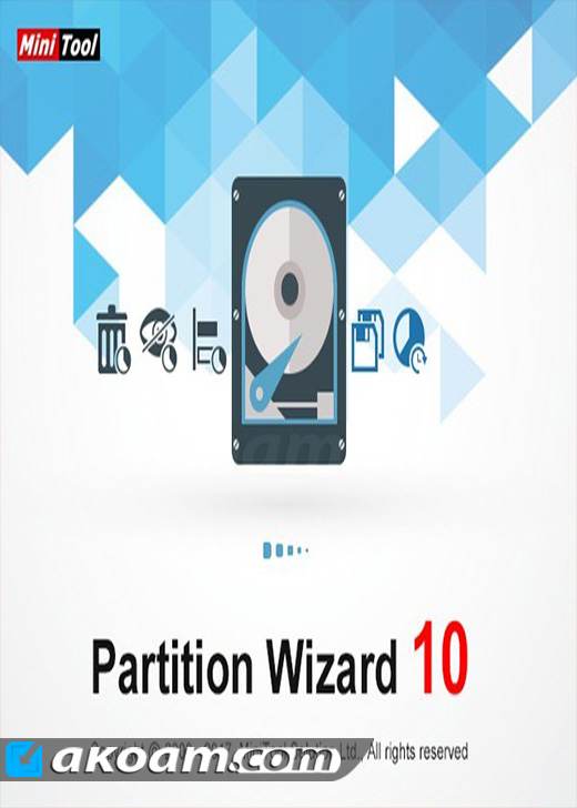برنامج تقسيم الهارد ديسك MiniTool Partition Wizard Pro Ultimate 10.1 BootCD