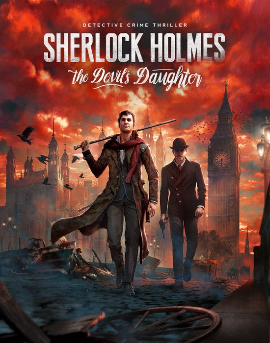 لعبة  Sherlock Holmes The Devil's Daughter بكراك CPY