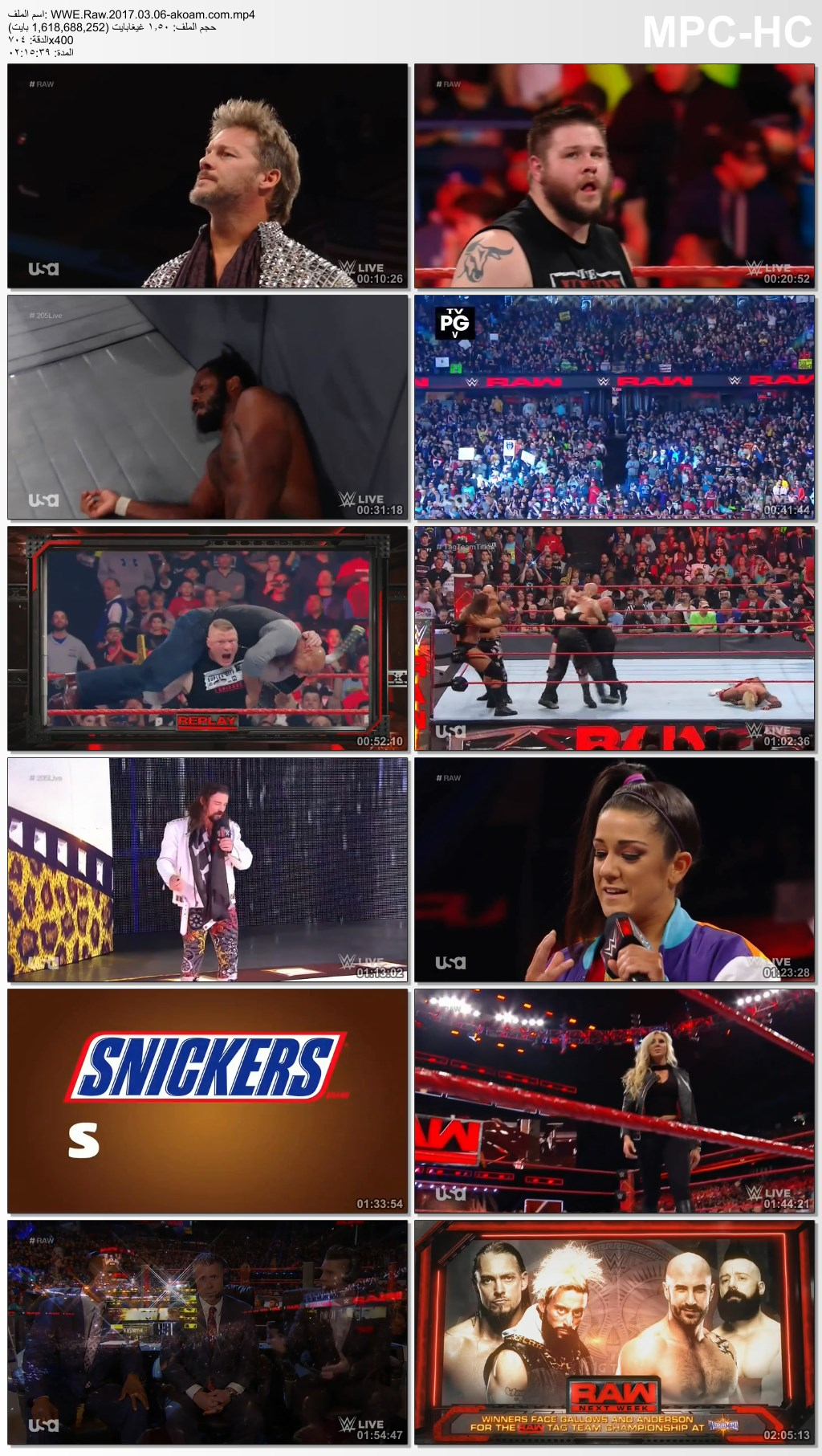 WWE Monday Night Raw,Raw,WWE