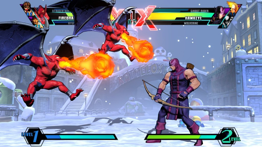 Ultimate Marvel vs Capcom,CODEX,Marvel,Ultimate,Capcom,الاكشن,القتال,كوديكس