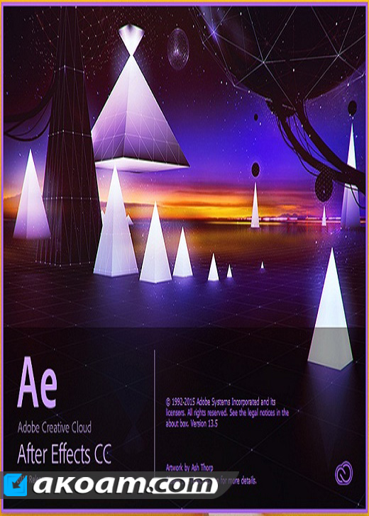 برنامج المونتاج Adobe After Effects CC 2017 14.1.0.57 DC 09.03.2017 Multilangual