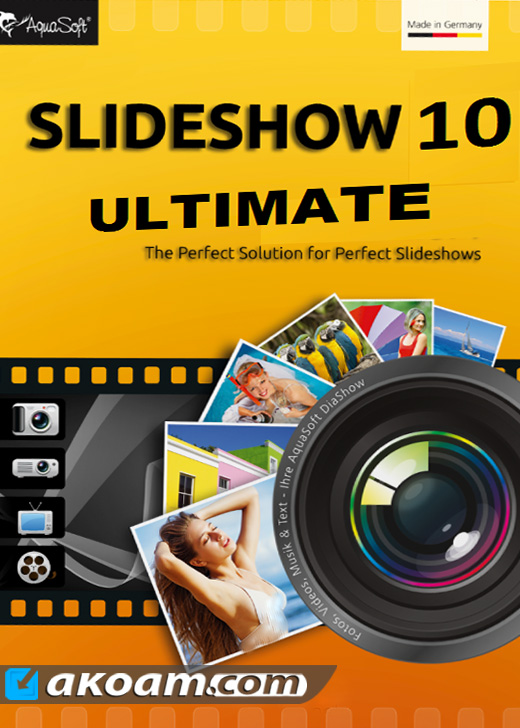 برنامج AquaSoft SlideShow 10 Ultimate 10.4.08 2017 MULTILANG