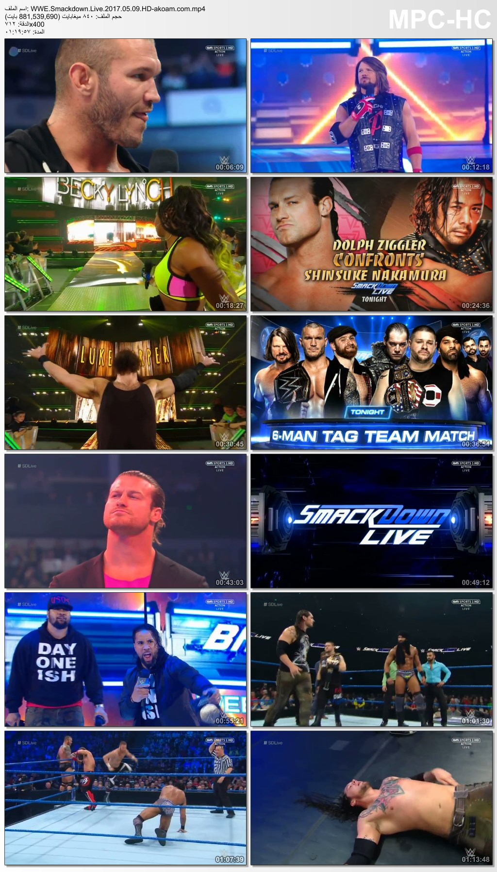WWE Smackdown Live,Smackdown,WWE