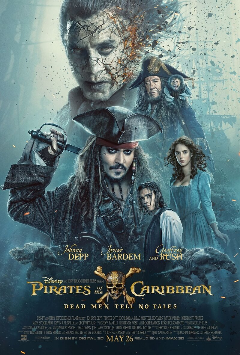 فيلم Pirates of the Caribbean Dead Men Tell No Tales 2017 مترجم