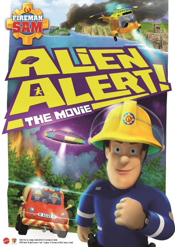 فيلم Fireman Sam Alien Alert The Movie 2016 مترجم