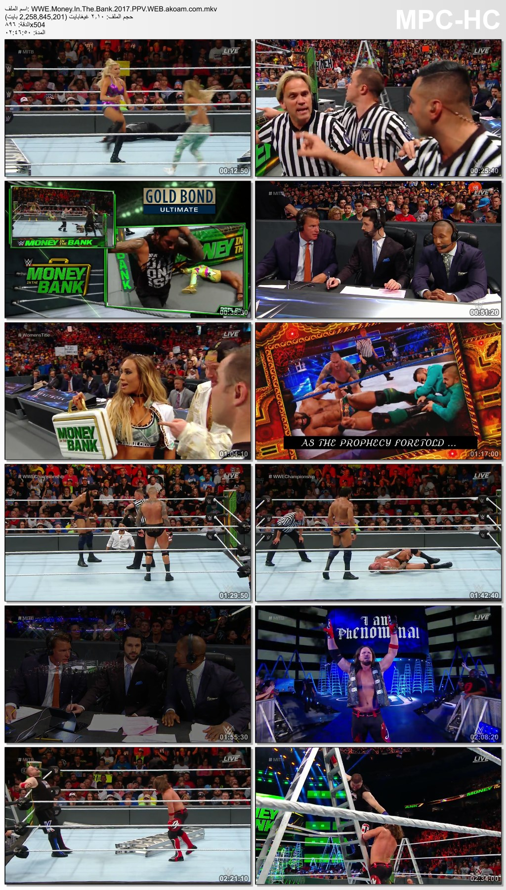 WWE Money in the Bank 2017,موني ان ذا بانك,موني ان ذا بانك 2017,WWE,Money In The Bank