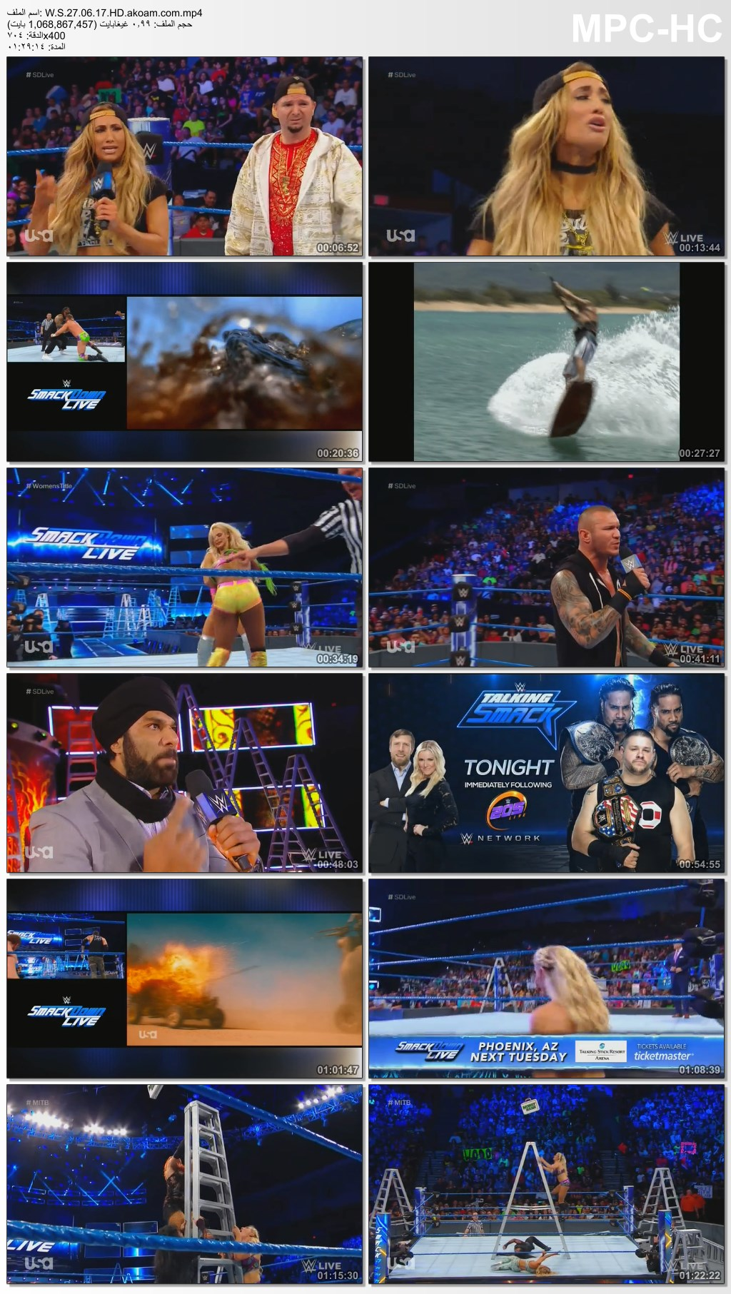WWE Smackdown Live 2017,WWE,Smackdown