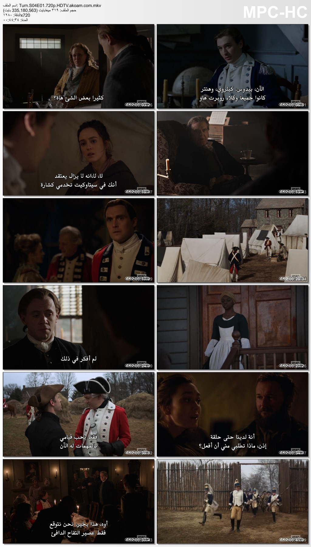 TURN,الاكشن,الدراما,الحروب,TURN: Washington's Spies,TURN: Washingtons Spies