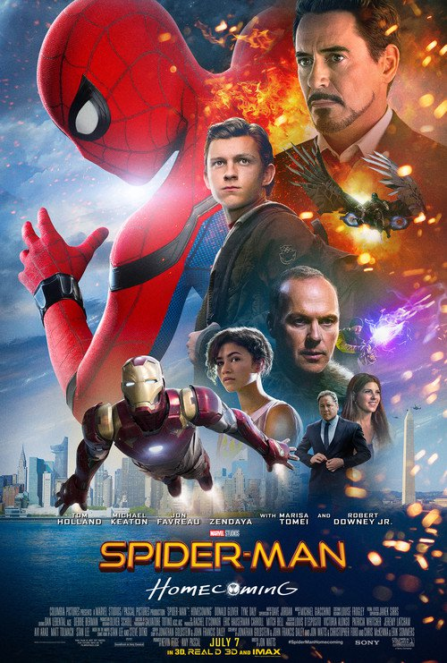 فيلم Spider Man Homecoming 2017 مترجم HDTS