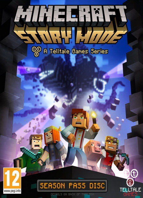 لعبة Minecraft: Story Mode Season بكراك RELOADED