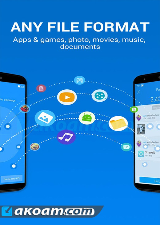 برنامج SHAREit File Transfer & Sharing v3.9.28