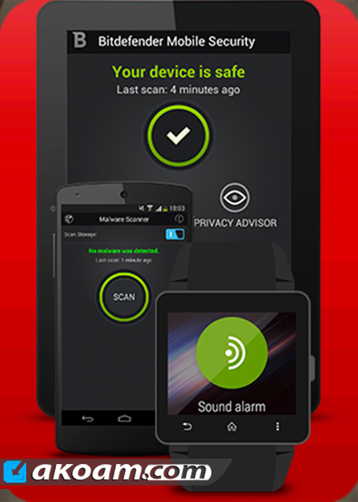 برنامج Bitdefender Mobile Security & Antivirus v3.2.98.203