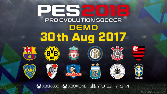 Pro Evolution Soccer 2018 Demo,Evolution,2018,Soccer,Demo,بيس,بيس 2018,ديمو,pes,pes 18,pes 2018,demo,peas 2018 demo