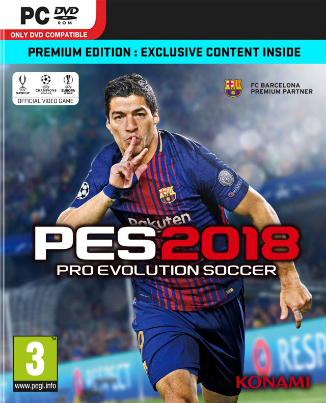 لعبة Pro Evolution Soccer 2018 Demo