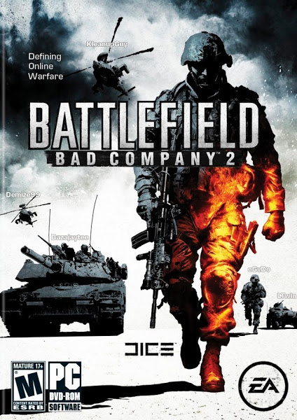 لعبة Battlefield Bad Company 2 ريباك فريق RG Mechanics