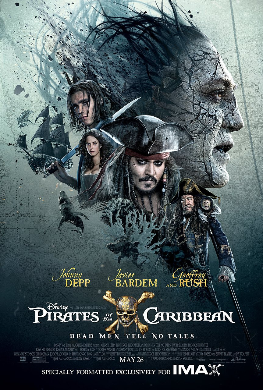 فيلم Pirates of the Caribbean Dead Men Tell No Tales 2017 مترجم 3D
