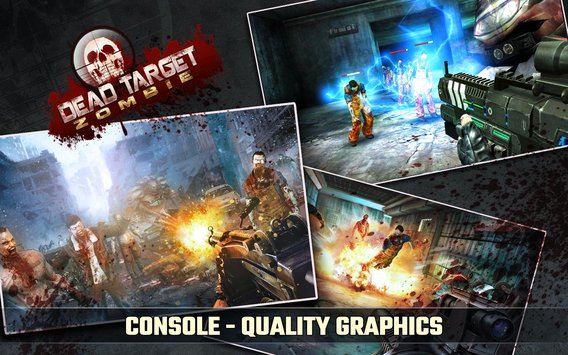 DEAD TARGET Zombie,العاب اندرويد,android,android games
