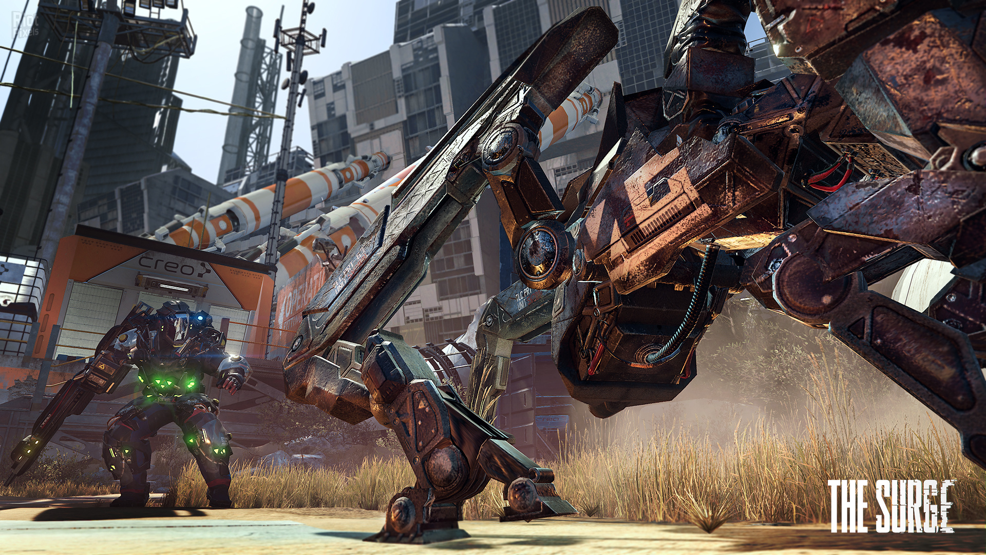 The Surge Complete Edition,Edition,Surge,Complete,ريباك,Fitgirl,The Surge A Walk in the Park,العاب,مغامرة,اكشن,كاملة,games,repack,action,adventure