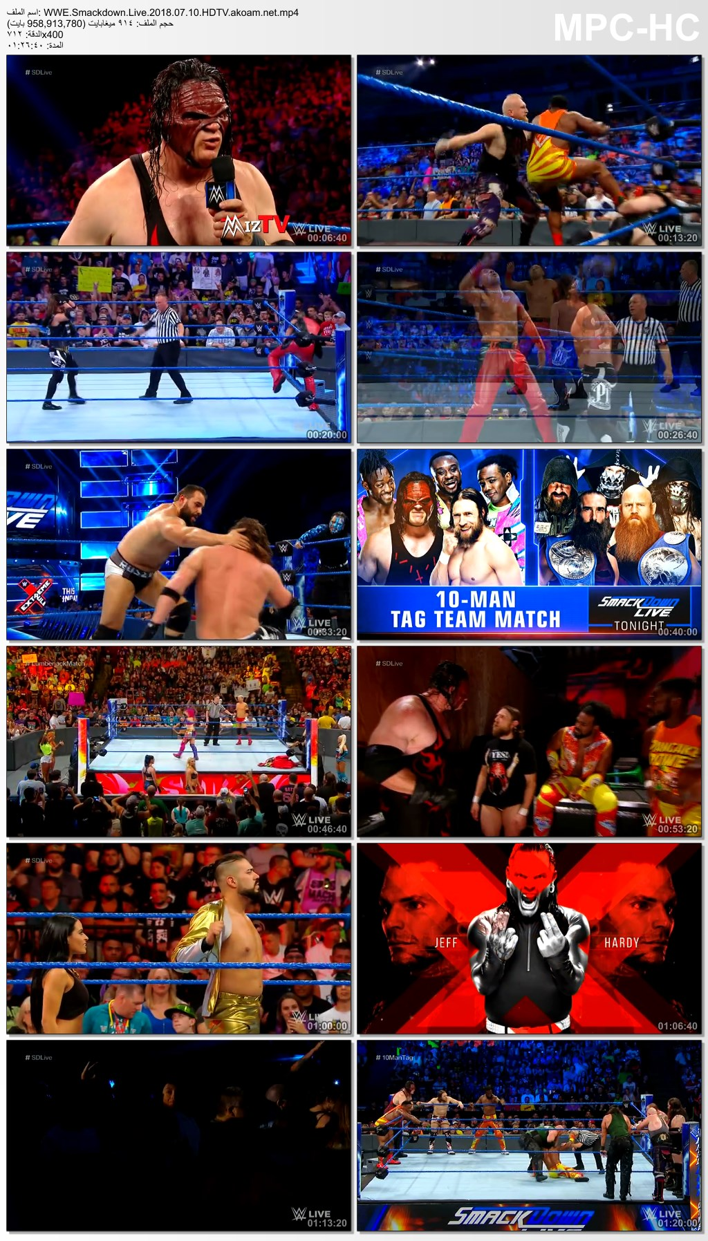 WWE Smackdown 2018,WWE,Smackdown