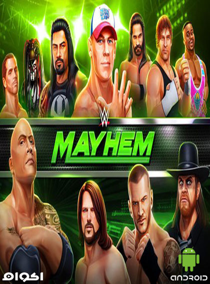لعبة WWE Mayhem للأندرويد