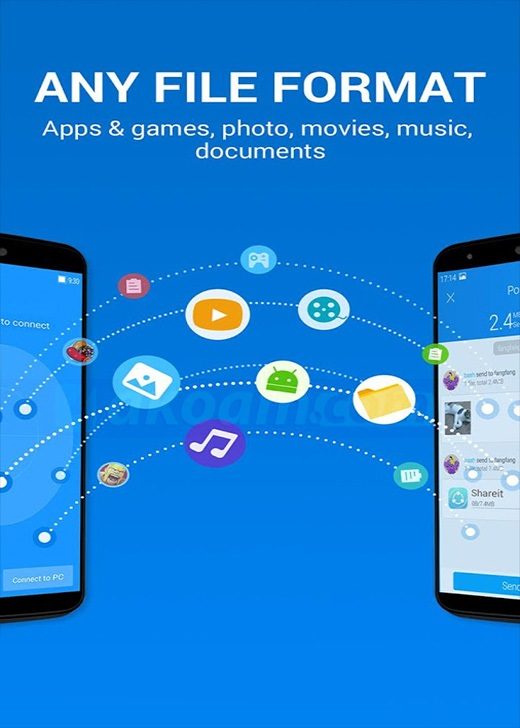 برنامج SHAREit File Transfer & Sharing v4.5.39
