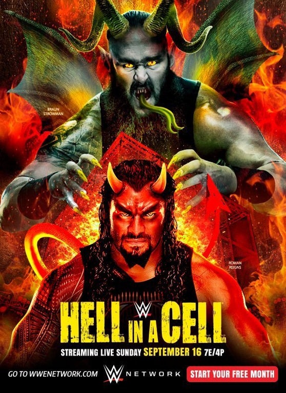 مهرجان WWE Hell In A Cell 2018