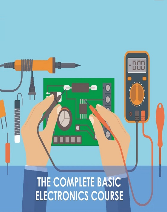 كورس The Complete Basic Electricity & Electronics Course