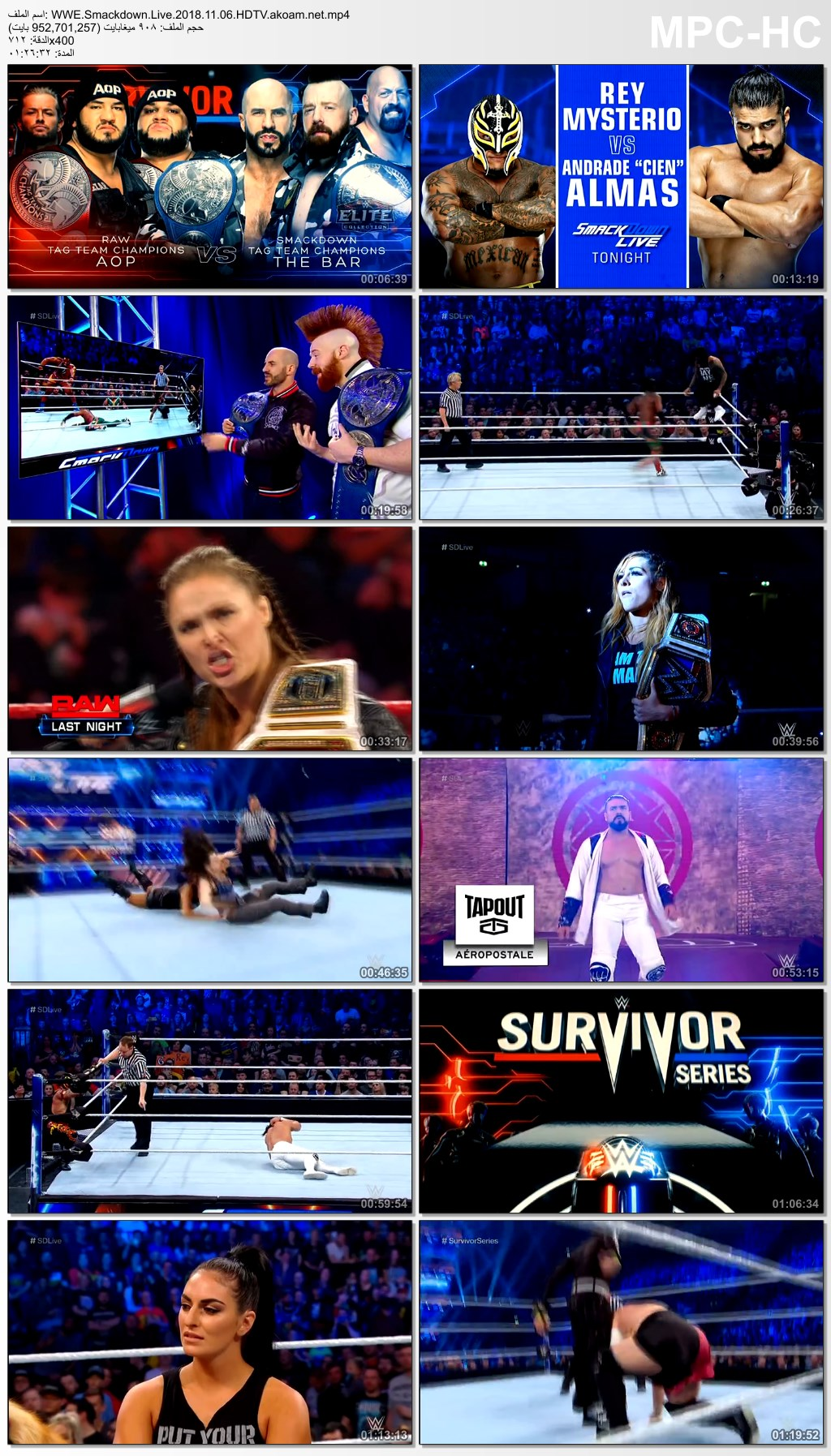 WWE Smackdown Live 2018,WWE,Smackdown